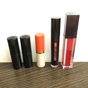 Luxe full size lip bundle Lancome Estée Lauder